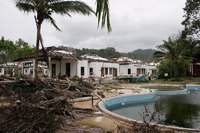 Thai tsunami that ripped apart the tourist-packed Khao Lak beach resorts in southern Thailand