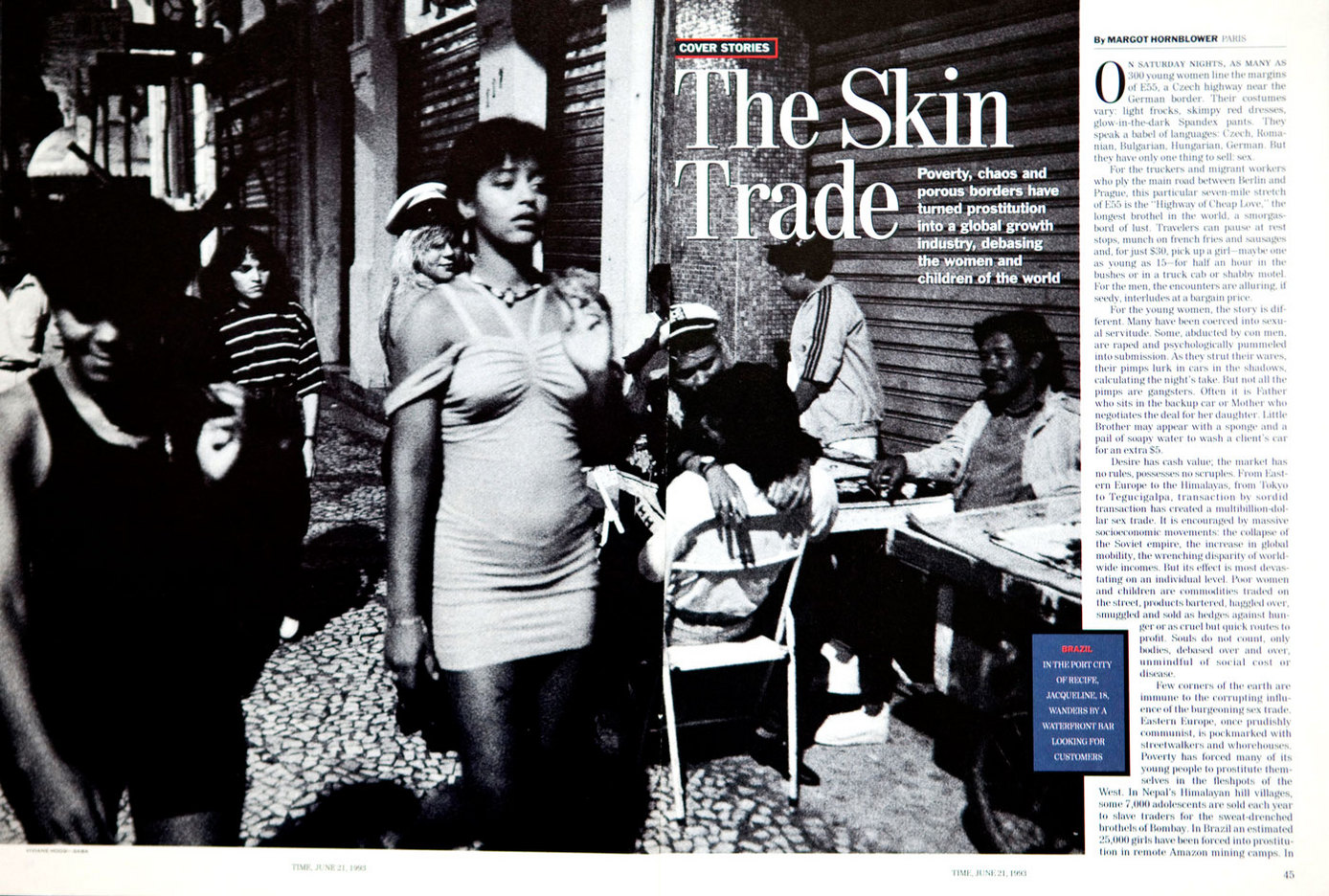 The Skin Trade, Time Magazine. USA : TEAR SHEETS : Viviane Moos |  Documentary Photographer