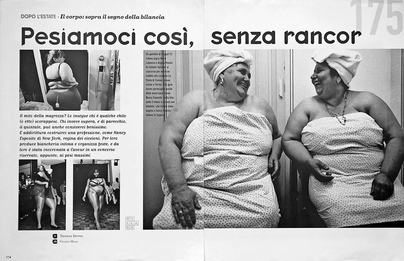 Mr and Mrs World Fat Competition, Italy : TEAR SHEETS : Viviane Moos |  Documentary Photographer