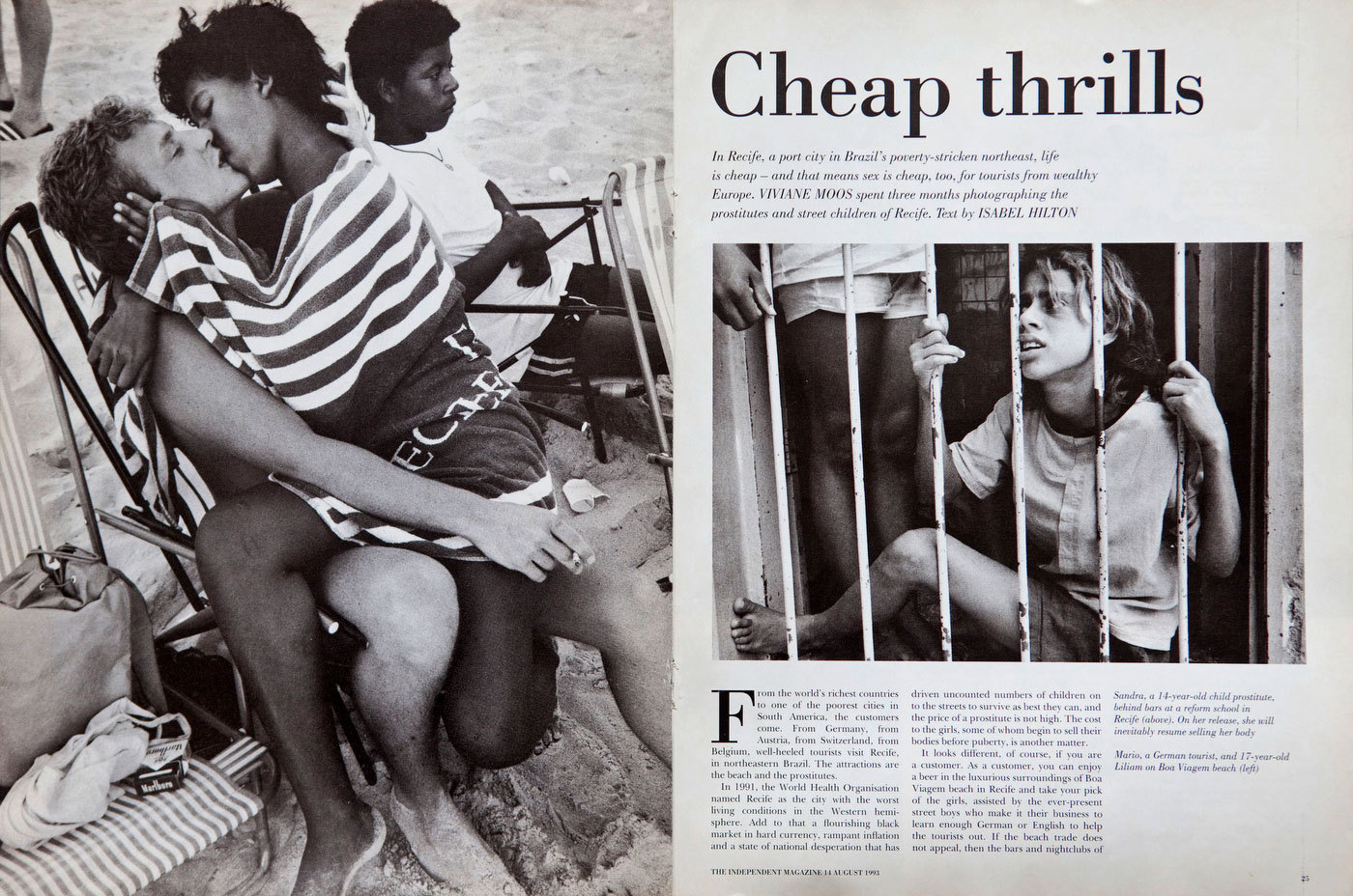 Selling Sex in Brazil. The Independent Magazine, UK. : TEAR SHEETS : Viviane Moos |  Documentary Photographer