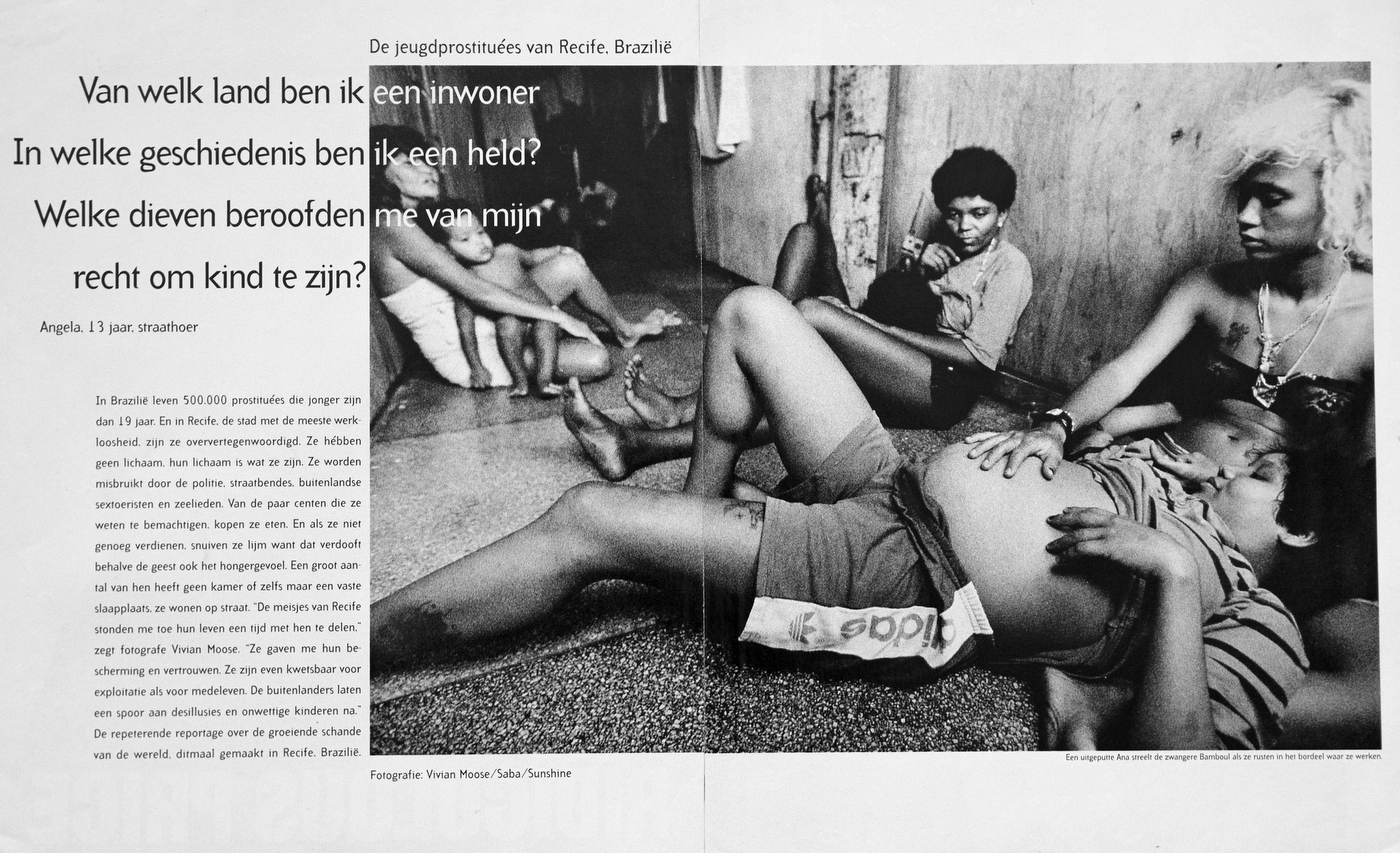 Child Prostitutes of Brazil. Holland : TEAR SHEETS : Viviane Moos |  Documentary Photographer