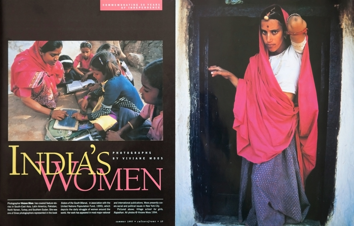 India's Women. USA : TEAR SHEETS : Viviane Moos |  Documentary Photographer