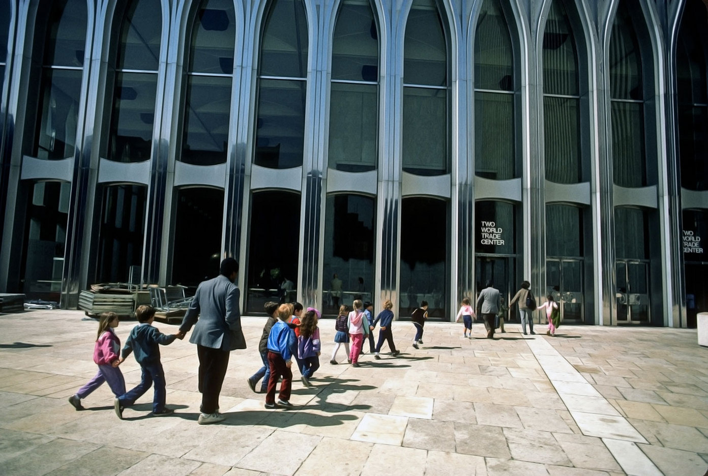 Field trip with City & Country school to the WTC
